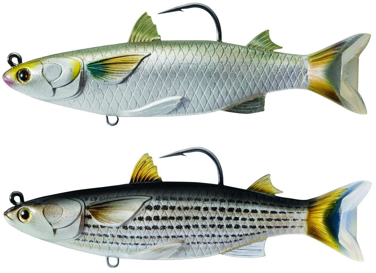 Livetarget mullet swimbait lures for Ocean fishing gear