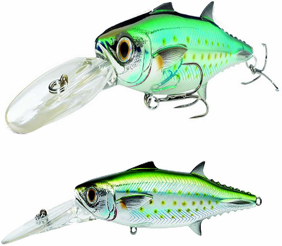 Livetarget spanish mackerel trolling bait lures tackledirect for Saltwater fishing lures