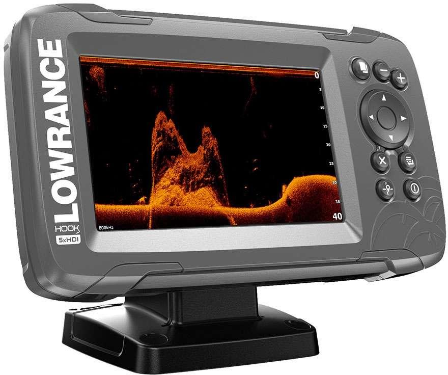 Lowrance HOOK2-5x 5in GPS Fishfinder w/ Track Plotter & SplitShot
