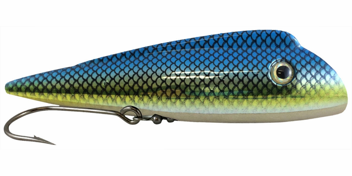 Convenient Bug Lucky Plug Lures - X-Large (6.75 in.) Coho Candy