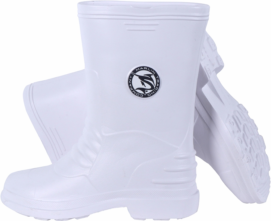 Marlin m688 deck boots white tackledirect for White fishing boots