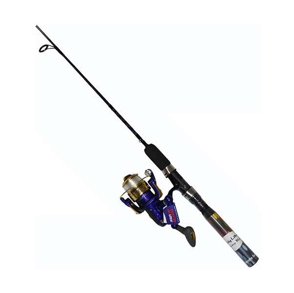 Master dn477 wl 6ft 6in lighted spin combo blue tackledirect for Roddy hunter fishing rod