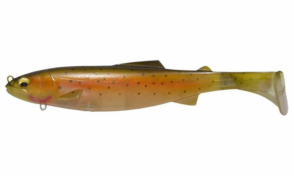 Megabass Magslowl Swimbait Lure - 7in Nude Rainbow MBL-0137-5