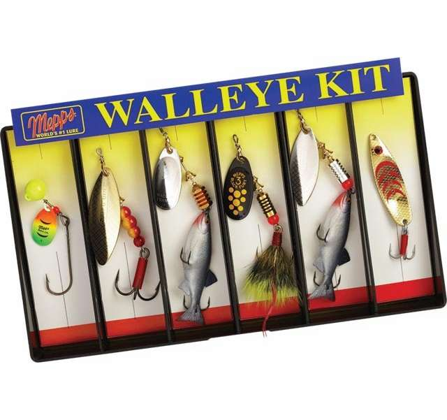 Mepps walleye lure kit k6a tackledirect for Fishing lure kits