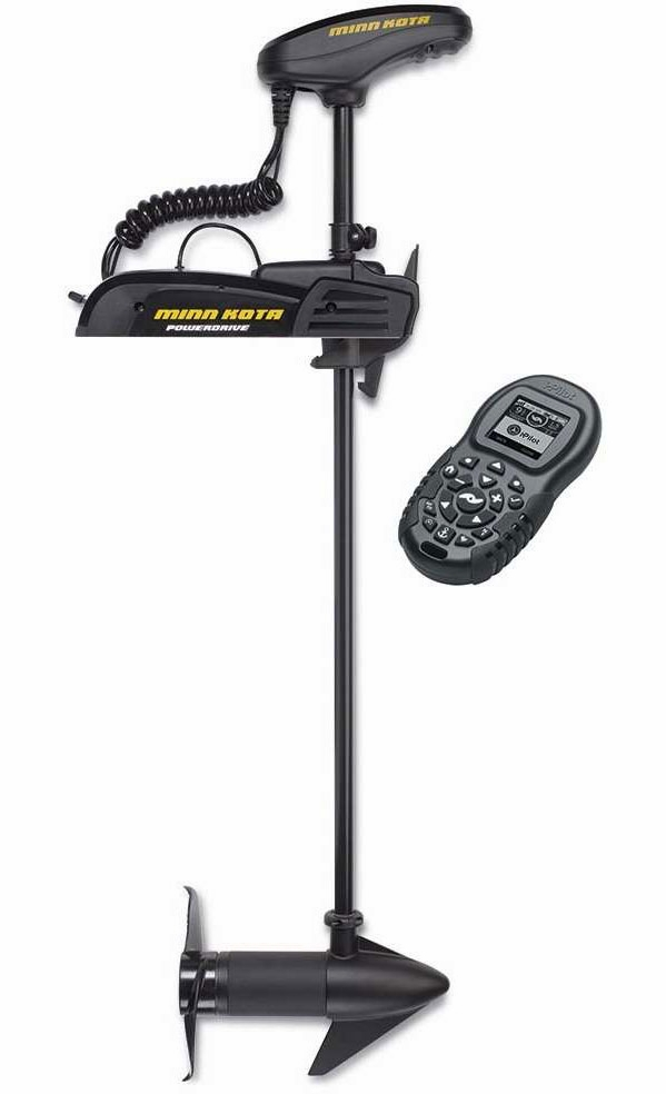 Minn kota 1358743 powerdrive 55 trolling motor tackledirect for Best minn kota trolling motor
