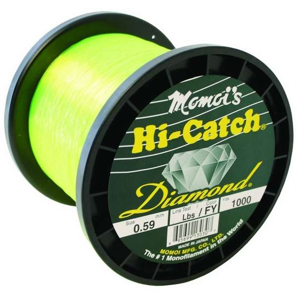 30 lb 3000 YDS jaune environ 13.61 kg Momoi Diamond monofilament Line .