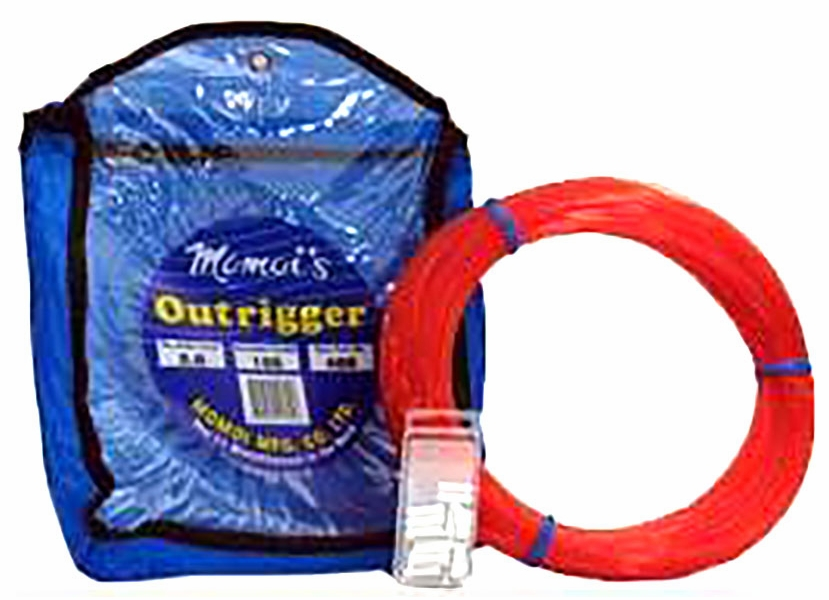 100 Yards Momoi Outrigger Line Kit Includes Crimp Sleeves