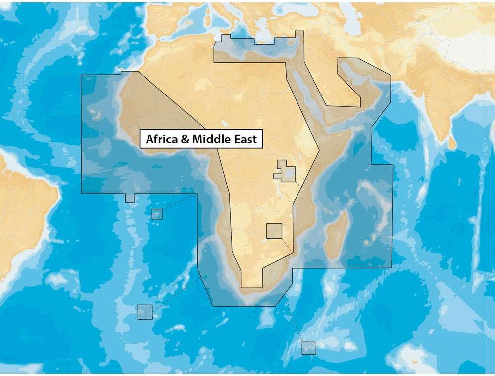 Navionics+ Africa & Middle East - microSD