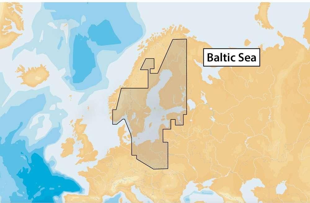 Navionics+ MSD/NAV+44XG/ROW Baltic Sea - microSD