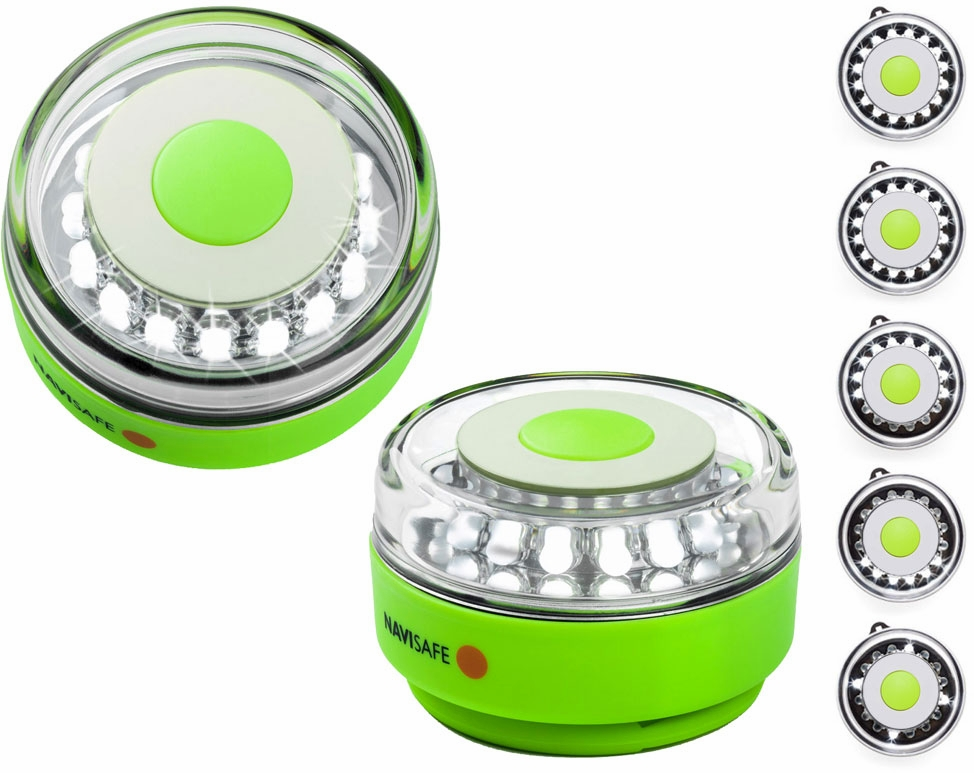 Navisafe Portable Navilight 360 Degree 2NM Rescue - Glow - Green