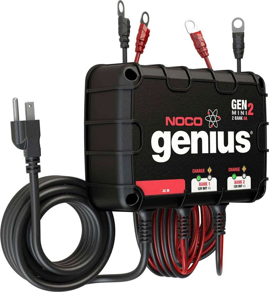 Wiring Onboard Battery Charger Bookmark About Diagram On Board Noco Genm2 Genius Mini 2 8a Tackledirect Rh Com For Minn Kota