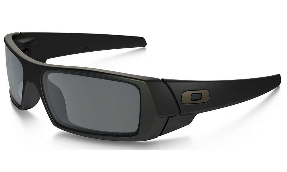 Oakley Gascan Sunglasses Matte BlackBlack Iridium 12 856