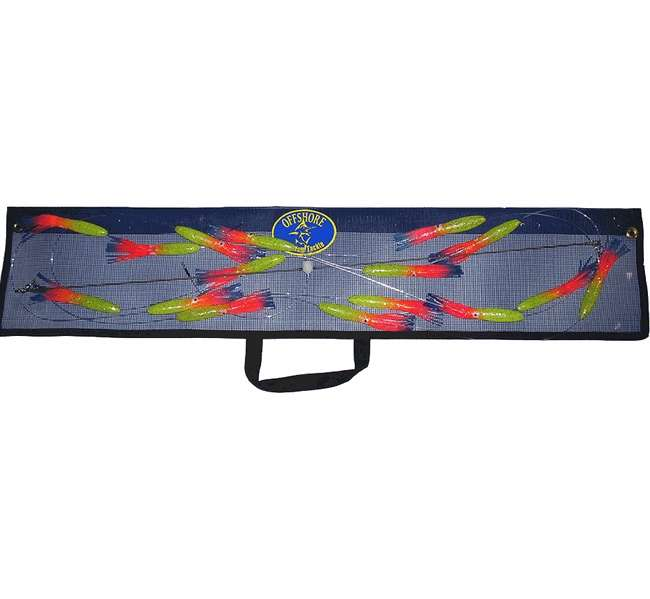 Offshore custom tackle spreader bars squid for Spreader bar fishing