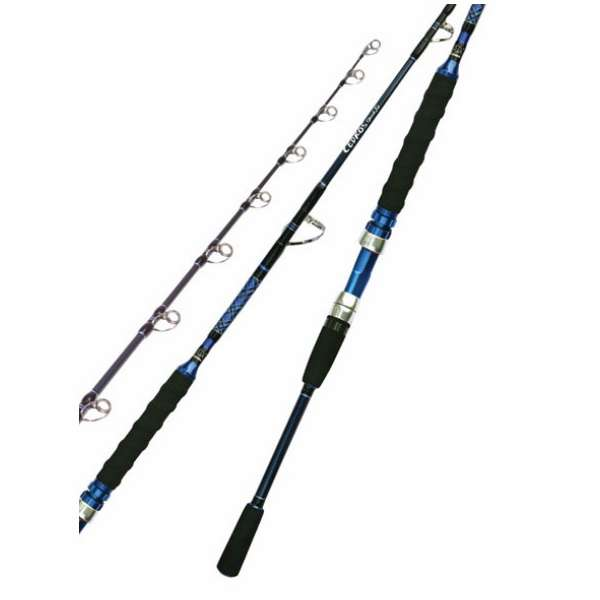 Okuma saltwater cedros jigging spinning rods tackledirect for Saltwater fishing rods