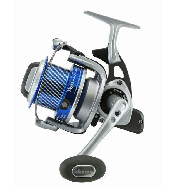 Okuma txa 60 trio rex arena surf spinning reel tackledirect for Surf fishing reels