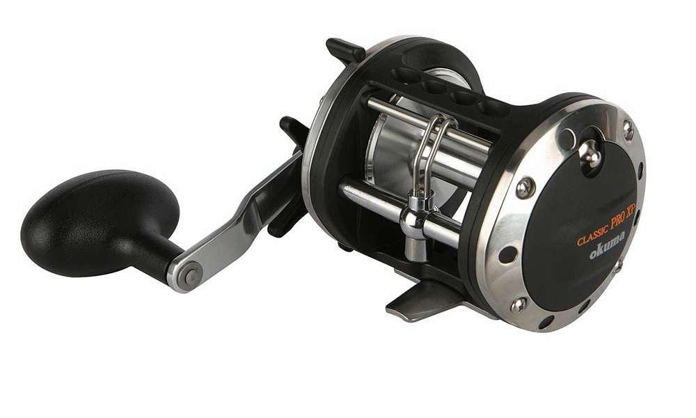 Okuma xp 302la classic pro xp levelwind reel tackledirect for Antique fishing reels price guide