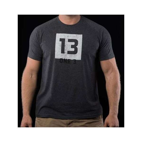 One 3 more than luck logo t shirt one 0061 2