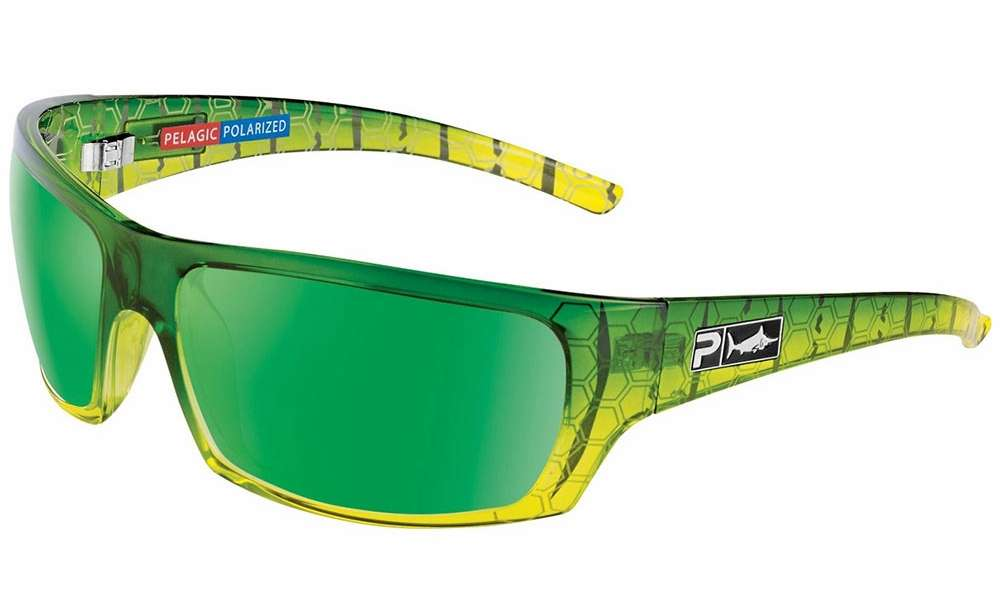 5409fde96c Pelagic The Mack Sunglasses - Green Dorado Green Mirror