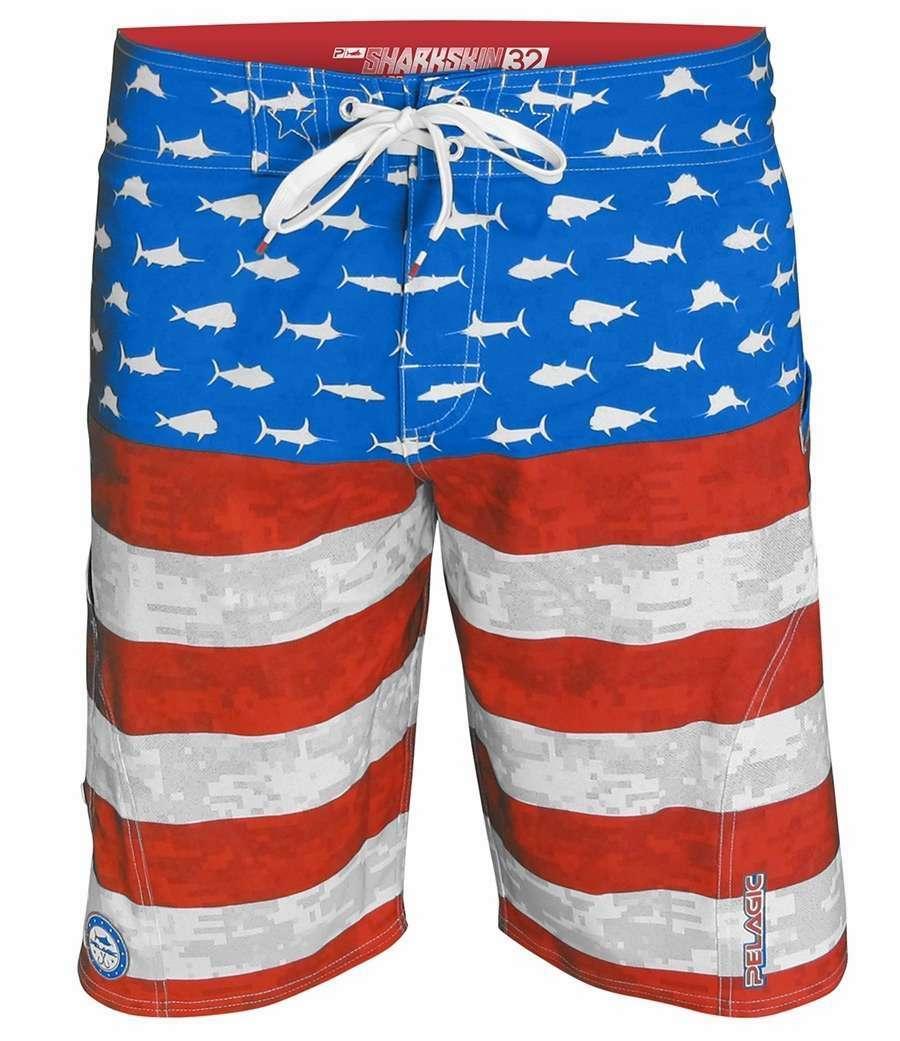 63a1c33292 Pelagic Americamo Sharkskin Boardshorts