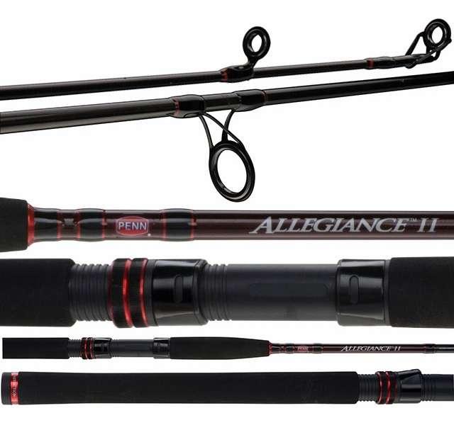 Penn allinii1220s70 allegiance ii inshore spinning rod for Penn fishing rod