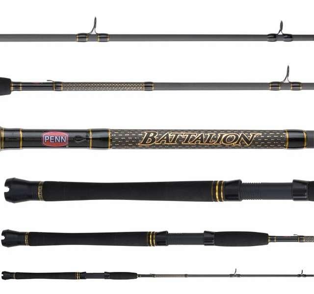 Penn batin1530c70 battalion inshore conventional rod for Penn fishing rod