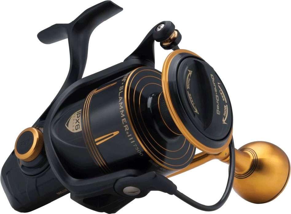 Sizes 8500 Ultimate Saltwater Spinning Reel PENN SLAMMER III