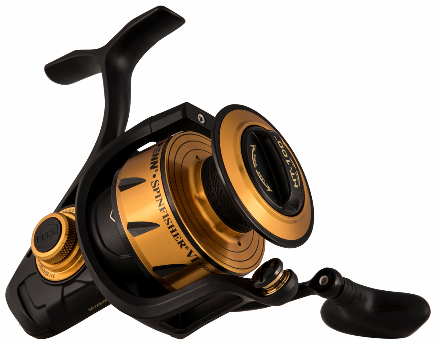 8e9ac584c69 Penn Spinfisher VI SSVI4500BLS Spinning Reel - TackleDirect