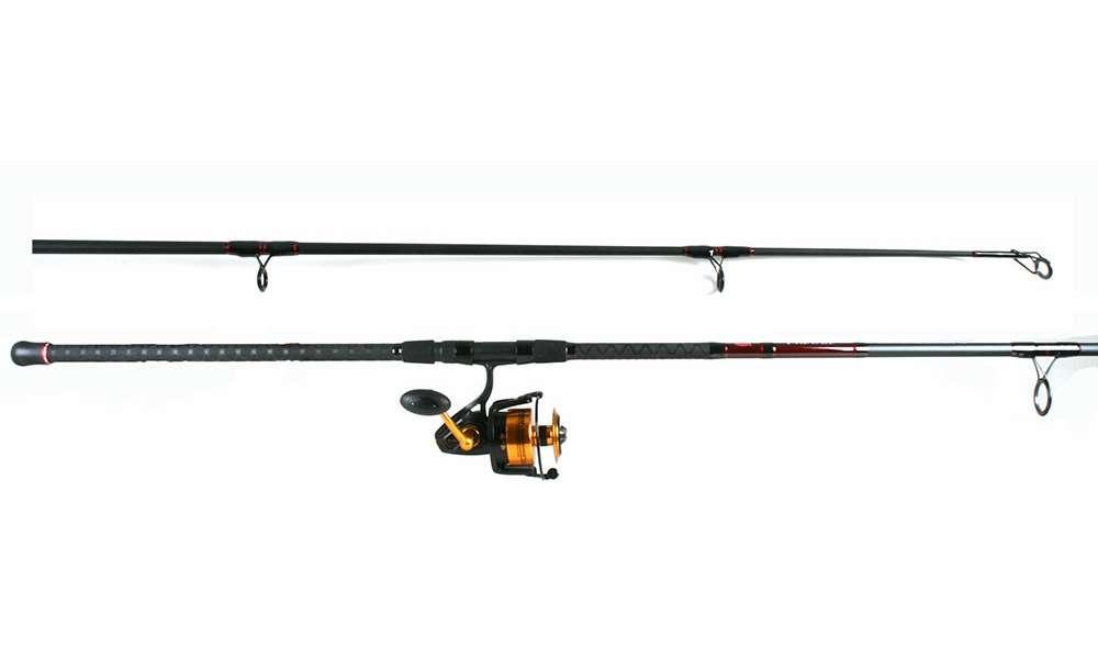 Penn ssv8500 spinfisher v reel penn prevail combo for Shark fishing rod and reel combo