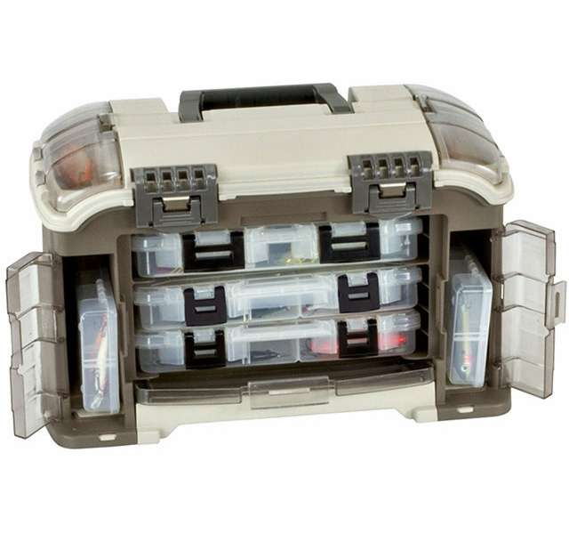 Plano 767 000 guide series angled tackle box system for Plano fishing boxes