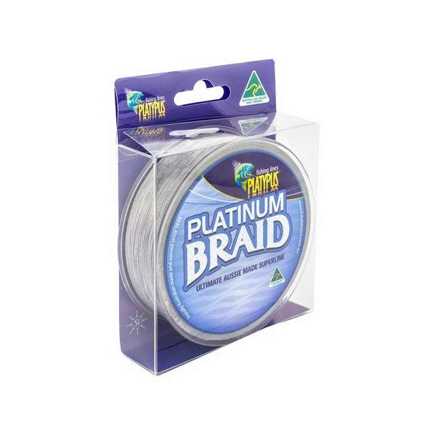 Platypus platinum braid fishing line tackledirect for Braid fishing line