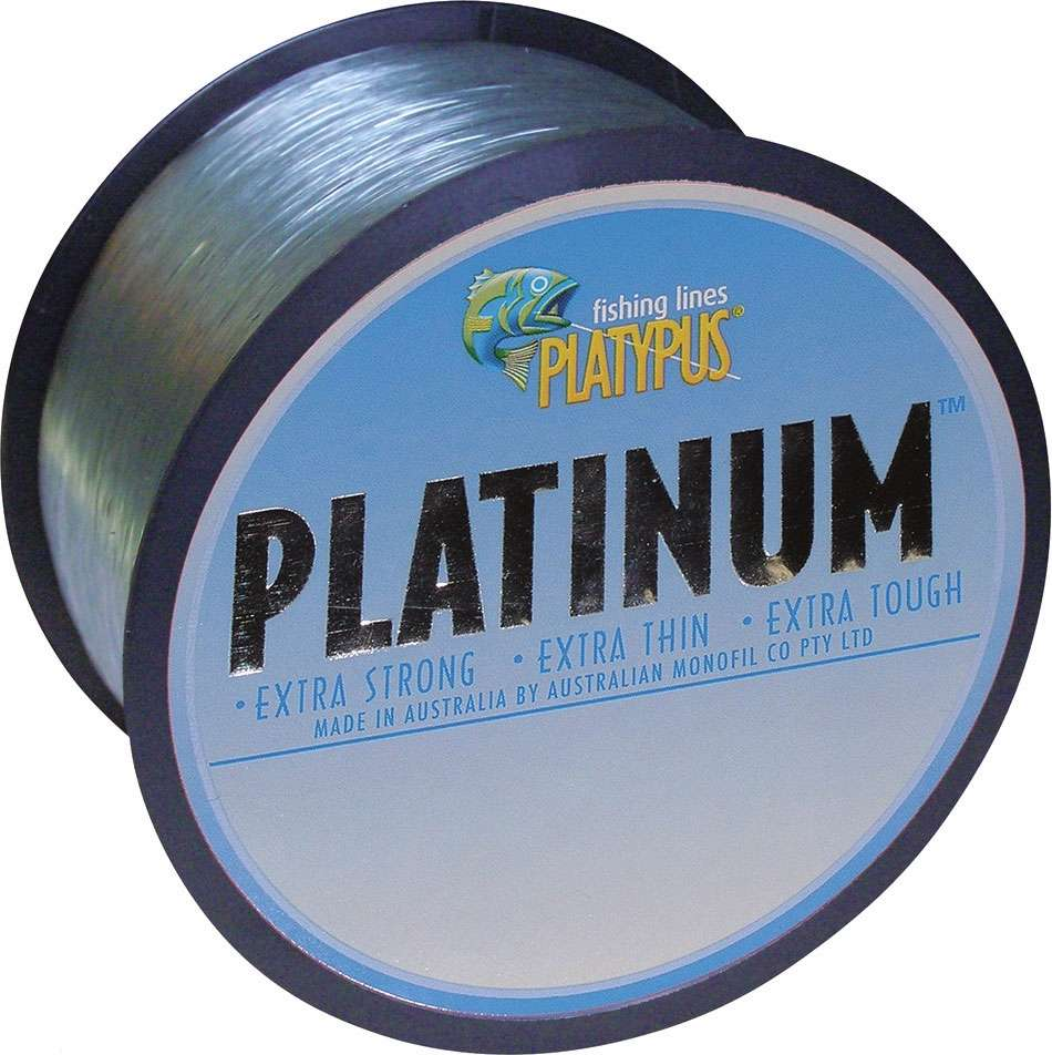 Extra Strong Platypus Platinum Fishing Line World/'s Best! Extra Thin
