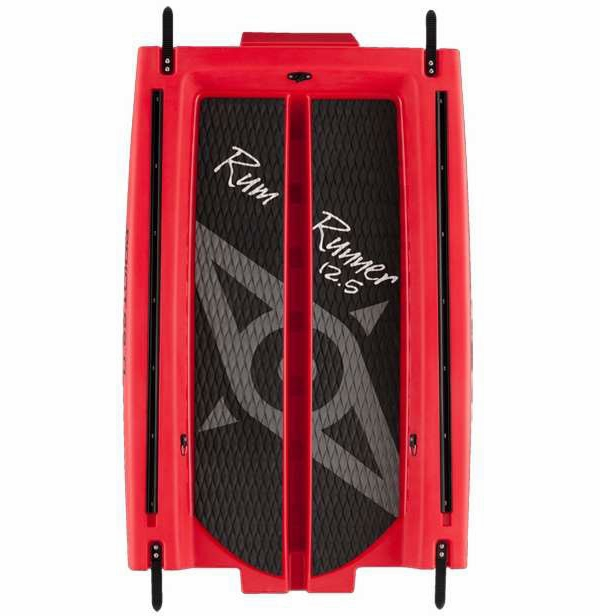 Point 65 Rum Runner Stand-Up Paddle Board 12.5 Mid Section Red