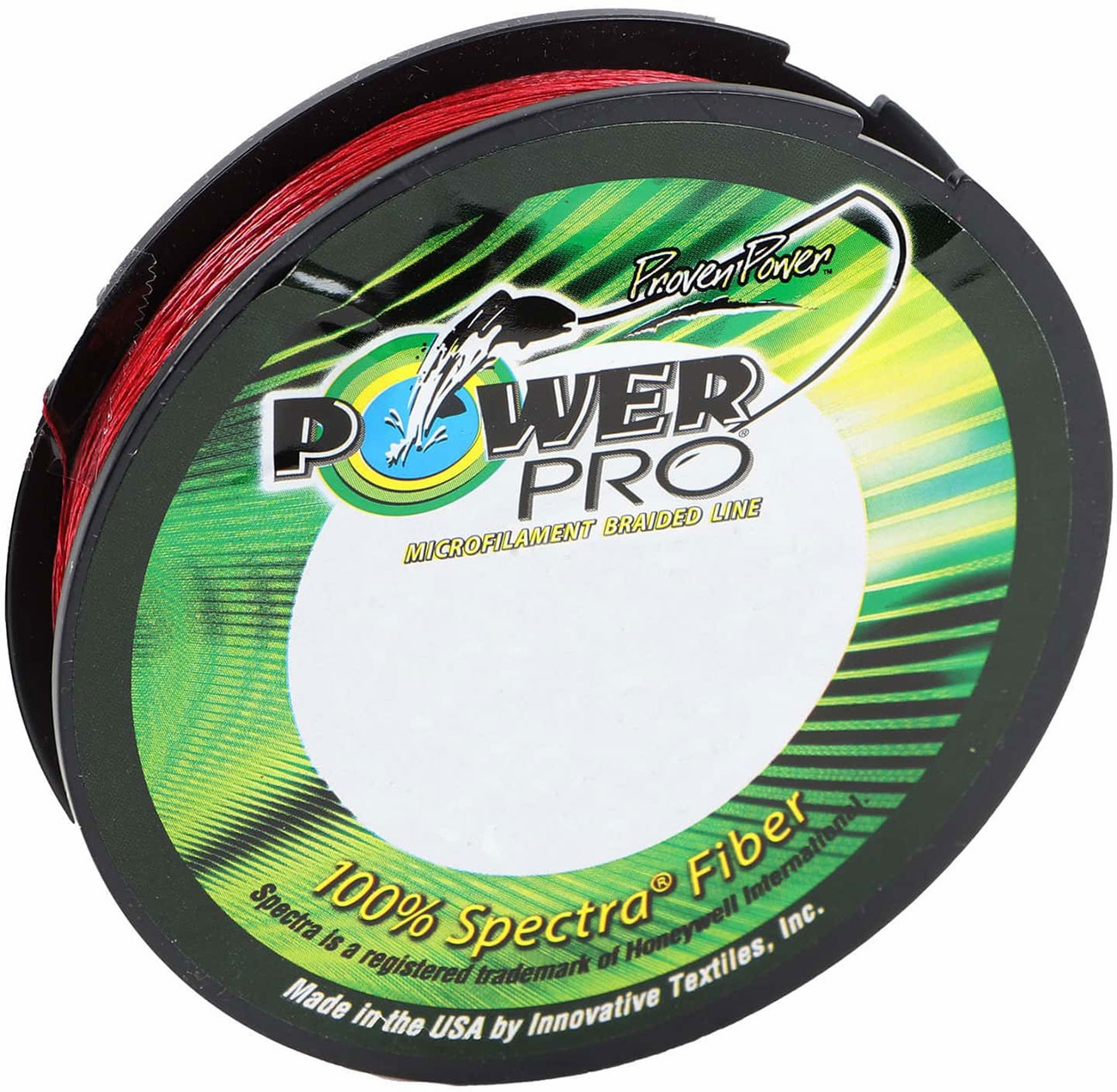 Power Pro Spectra Braid Vermilion Red 30 lb 150 yds NEW
