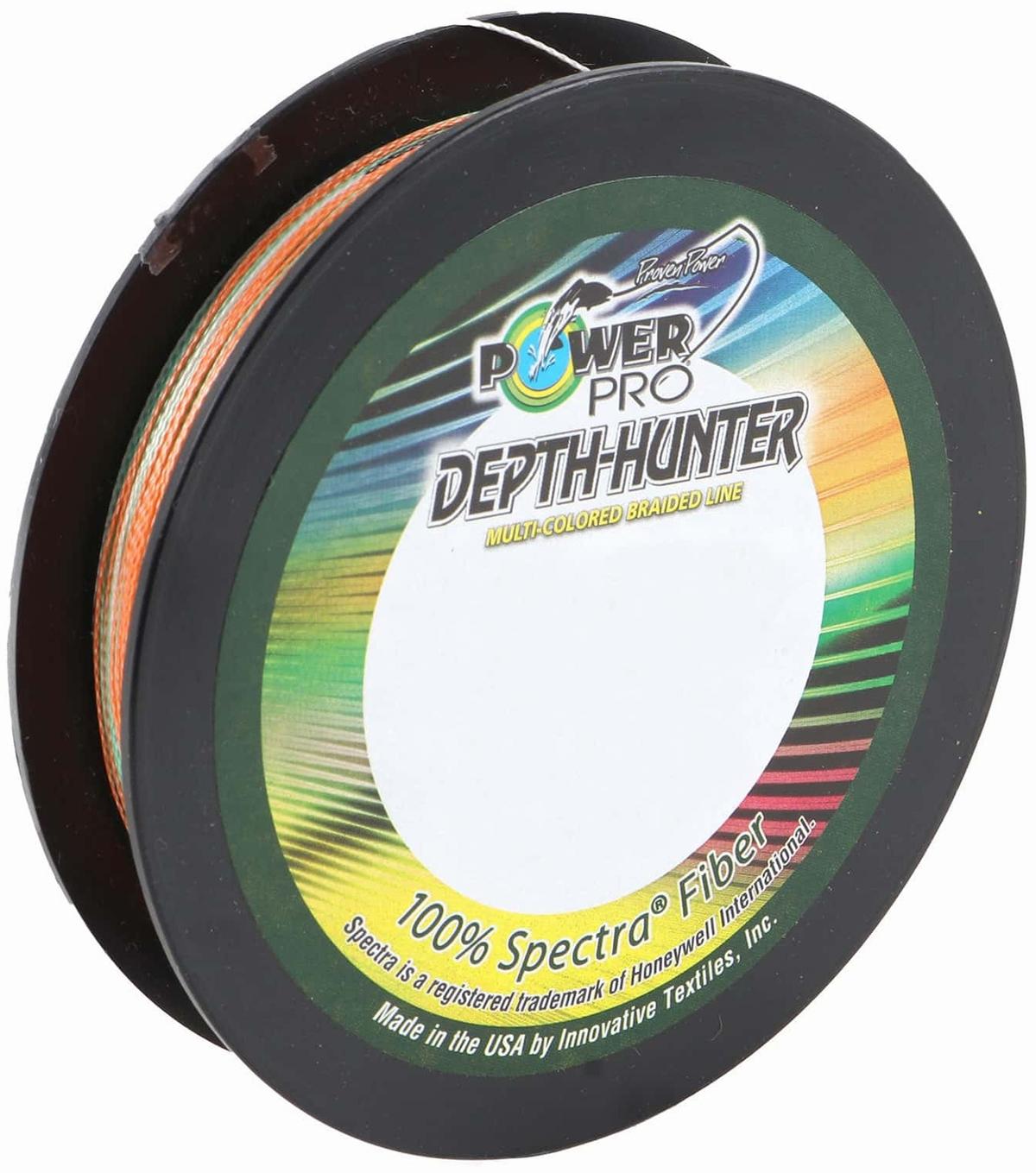 Powerpro depth hunter braided fishing line 3000yds 80lb for 80 lb braided fishing line