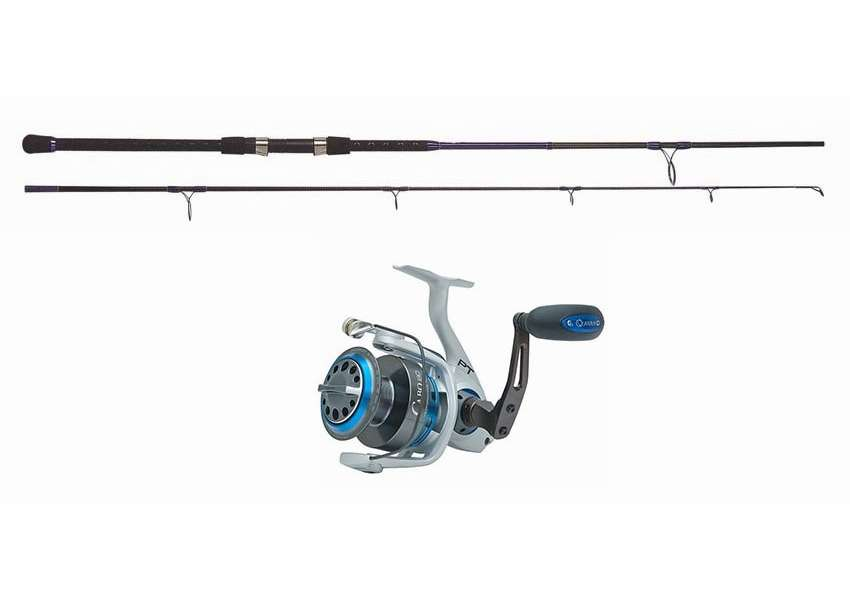 Blacktiph pier fishing combo standard tackledirect for Best surf fishing rod and reel combo