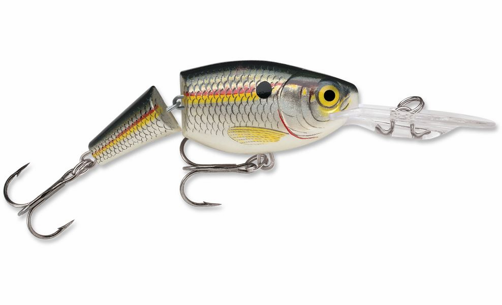 Rapala Jointed Shad Rap 04 Fishing Lure Red Crawdad