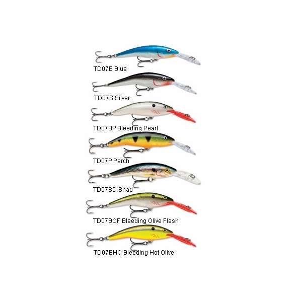 Rapala TD07 Tail Dancer Pick Colors /& Quantity NIP