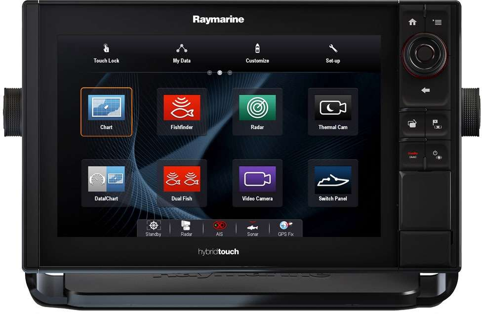 Raymarine eS128 12.1in Combo w/ US LNC Vector Charts - E70285-LNC