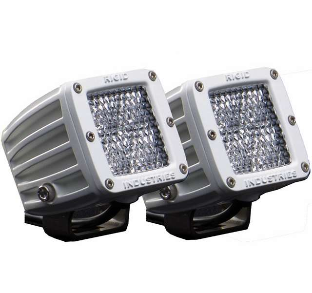 Rigid Industries Marine Dually Surface Mount Diffused Pair - 60251 RIG-0022