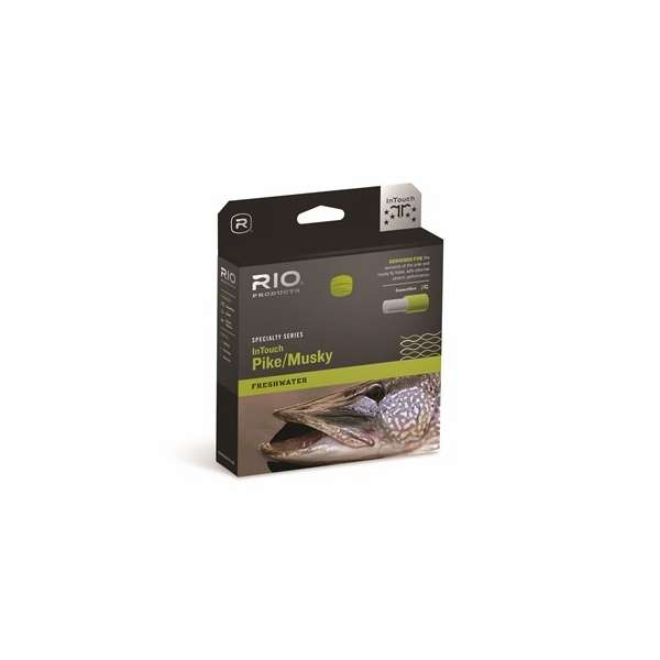 with Free Shipping!!! New Rio InTouch Pike//Musky Fly Line