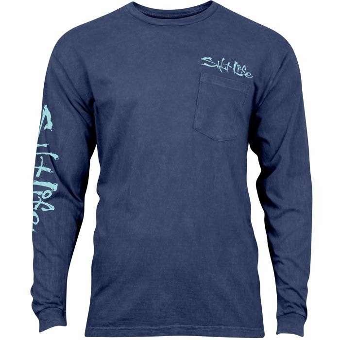 Salt life daily catch salt wash long sleeve t shirt 2xl for Salt life long sleeve fishing shirts
