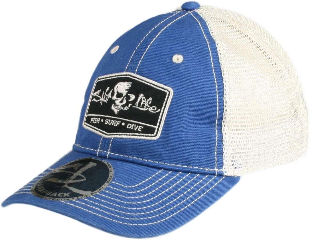 fa9921edd Salt Life Trifecta Trucker Hat
