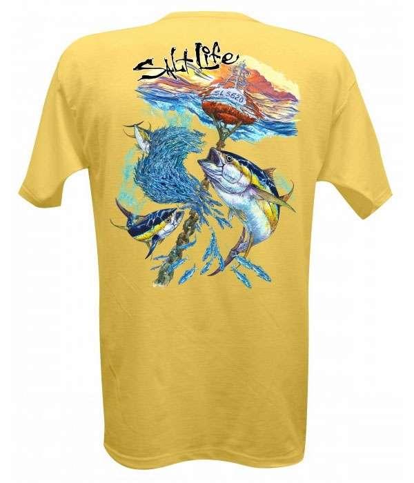 db6ab58b7 Salt Life Mens Short Sleeve T-Shirts