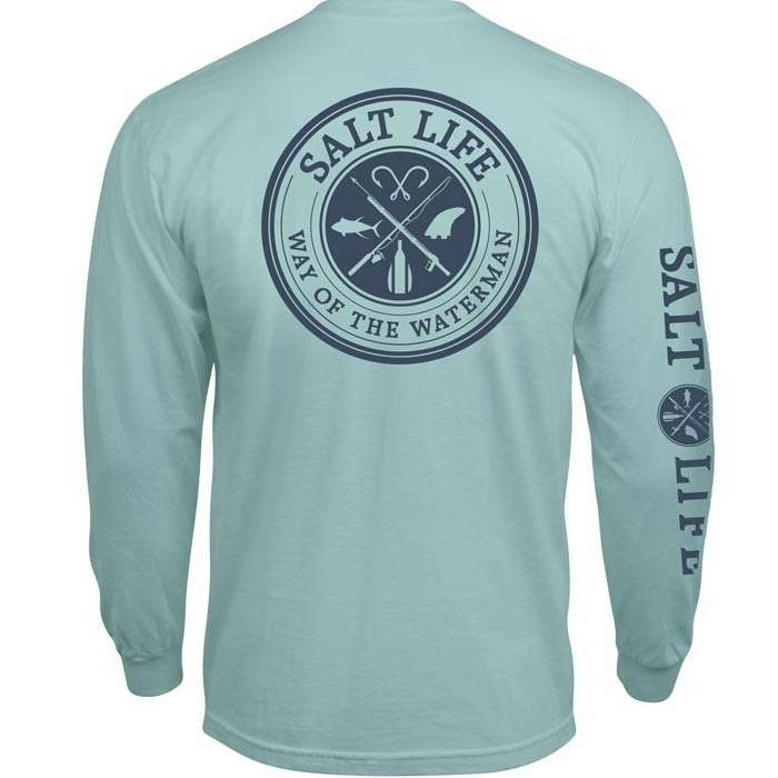 Salt life way of the waterman long sleeve t shirt for Salt life long sleeve fishing shirts