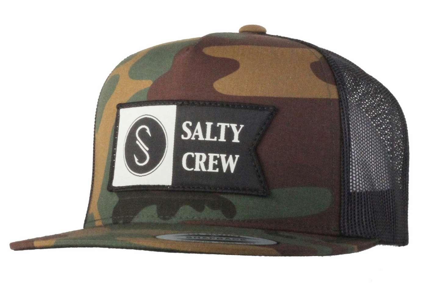 d68ab39fa60 Salty Crew Alpha Trucker Hat