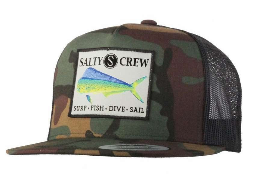 2a5cc57d5a Salty Crew Mahi Trucker Hat | TackleDirect