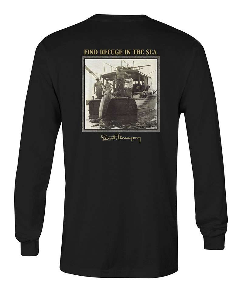 salty crew stern long sleeve t shirt black 2x large. Black Bedroom Furniture Sets. Home Design Ideas