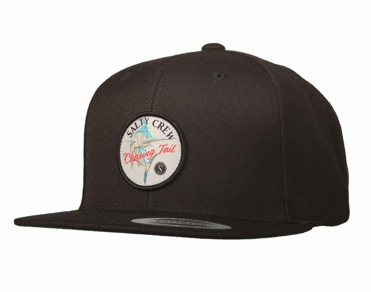 official photos 05a2f a86cf Salty Crew Striped Marlin Hat - Black - TackleDirect
