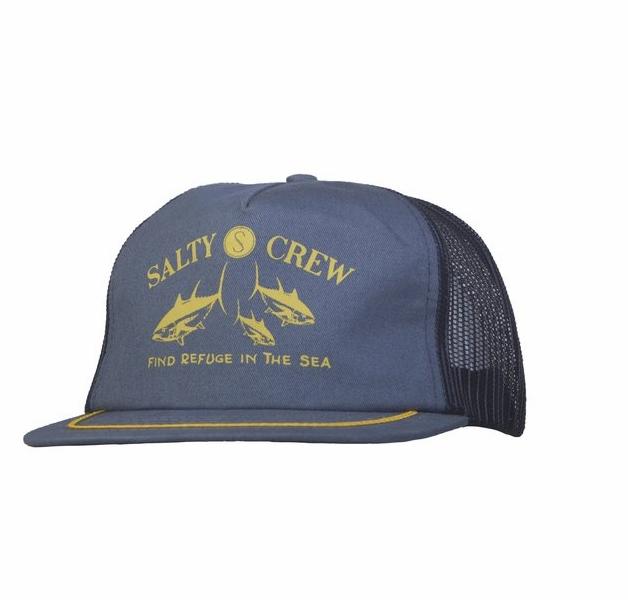 1450d9c434 Salty Crew Tuna School Trucker Hat - TackleDirect