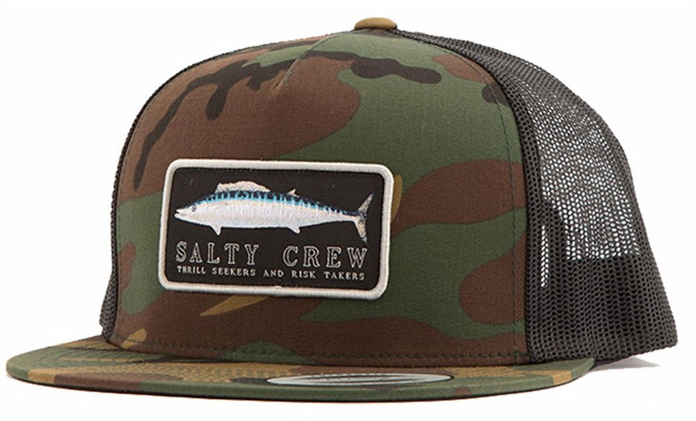 new style 752b5 1d5f3 ... cheapest salty crew wahoo mount trucker hat tackledirect 3fd0c 1ee00
